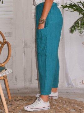 Rosalba, pantalon raccourci...