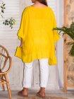 Eulalie tunique bohème, Provencal Days jaune dos 4