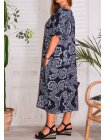 Hope, robe ty and dy, grande taille marine profil