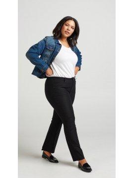 Veste en jean, marque Zizzi profil