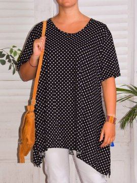 Sally, top viscose pois,...