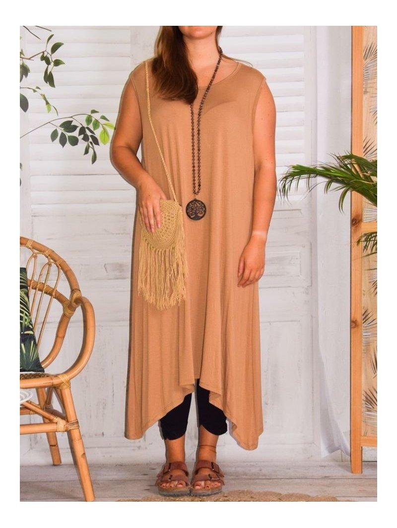 Sofia, robe viscose  grande taille petit prix