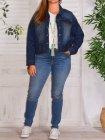 Veste en jean, marque Zizzi 156