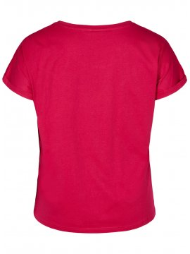 T-shirt Trouble Maker, grande taille, marque Zizzi dos